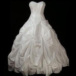 Davids Bridal T9017 Wedding Dress